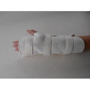 Bandáž na ruku / prsty/ zápästie/ predlaktie Ovcie runo