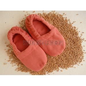 Ohrievacie papuče s obilím Suché teplo