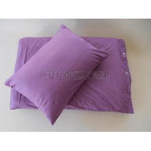 Návliečky na posteľ ISTAR 1+1 Fialová farba