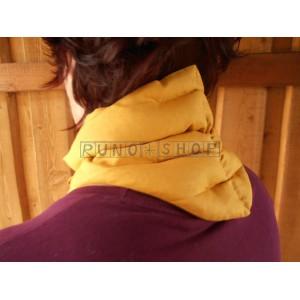 Hrejivý nákrčník na krčnú chrbticu z obilia