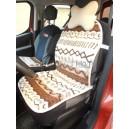 Hrejivý sedák do auta 50 x 110 cm Ovčie runo VLNKA