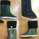 VLNIENKA barefoot termo vložky do Gumákov pre deti  AIGLE/ BERRGSTEIN 100% Ovčie runo MERINO